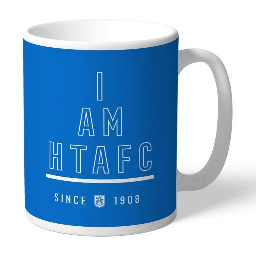 Personalised Huddersfield Town I Am Mug.