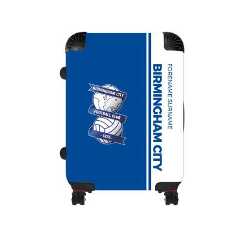 Personalised Birmingham City Crest Cabin Suitcase.