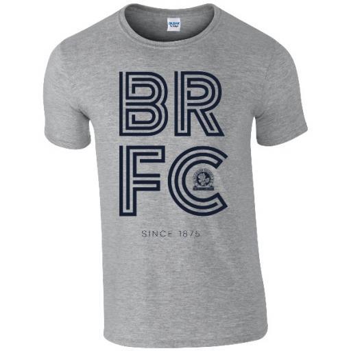 Personalised Blackburn Rovers FC Stripe T-Shirt.