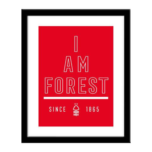 Nottingham Forest FC I Am Print