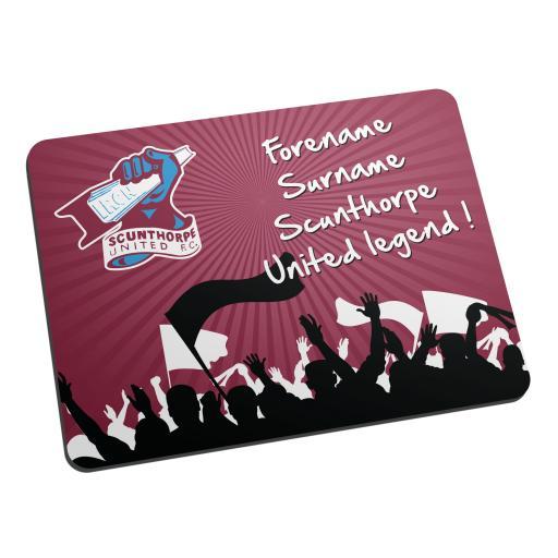 Scunthorpe United FC Legend Mouse Mat