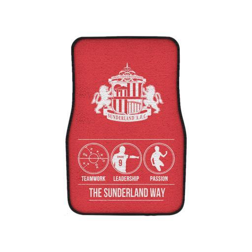 Sunderland AFC Way Front Car Mat