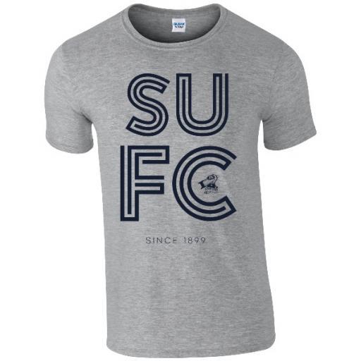 Scunthorpe United FC Stripe T-Shirt