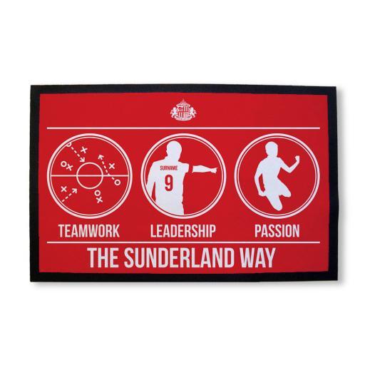 Sunderland AFC Way Door Mat