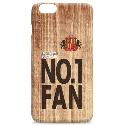 Sunderland AFC No 1 Fan Hard Back Phone Case