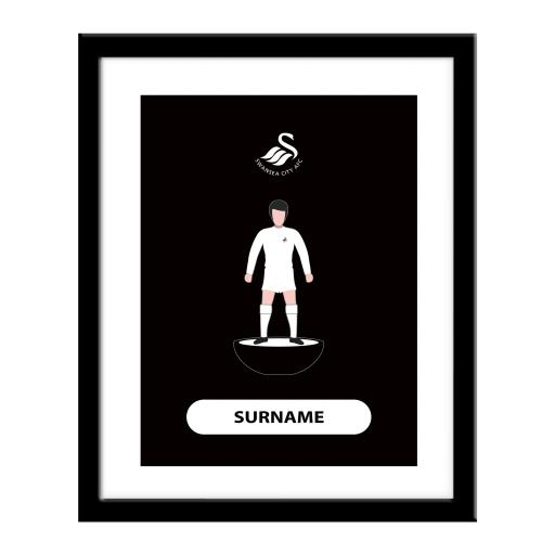 Swansea City AFC Player Figure Print
