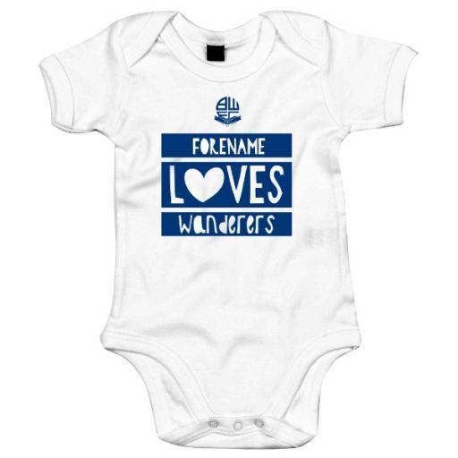 Bolton Wanderers FC Loves Baby Bodysuit