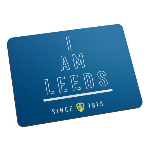 Personalised Leeds United FC I Am Mouse Mat.