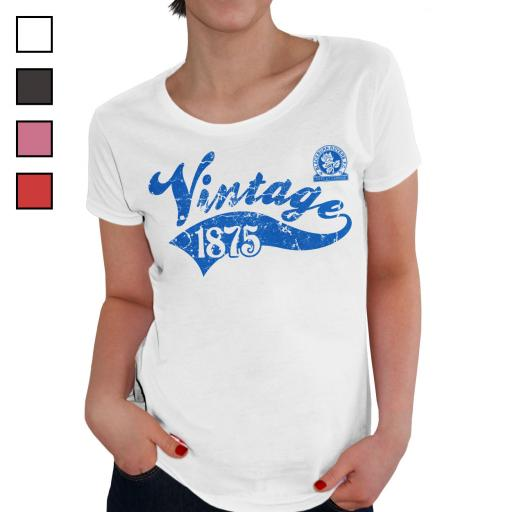 Blackburn Rovers FC Ladies Vintage T-Shirt