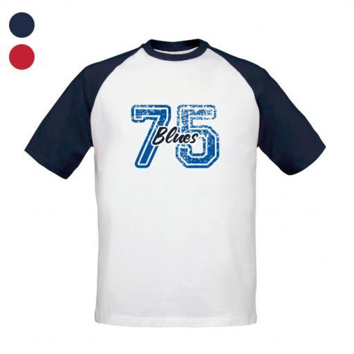Birmingham City FC Varsity Number Baseball T-Shirt