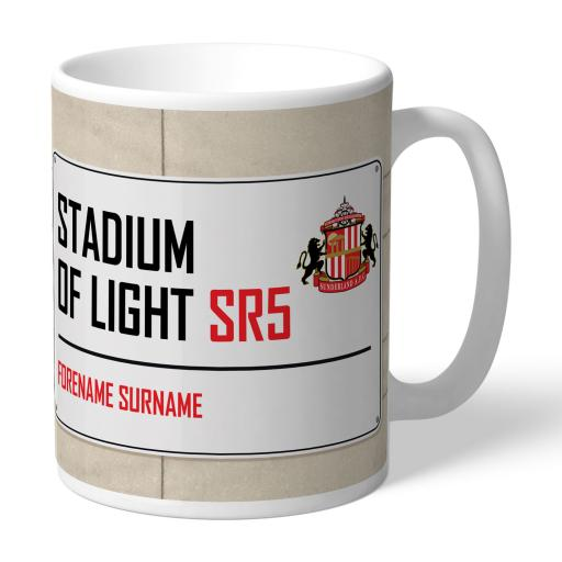 Sunderland AFC Street Sign Mug