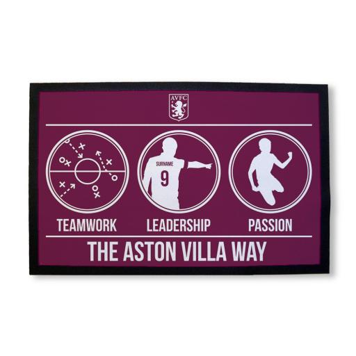 Aston Villa FC Way Door Mat