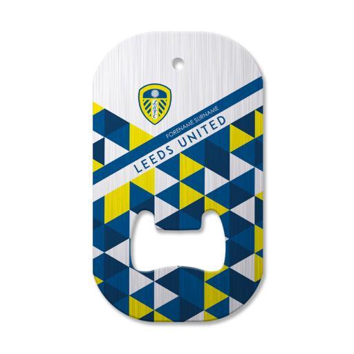 Leeds United FC Patterned Compact Bottle Opener