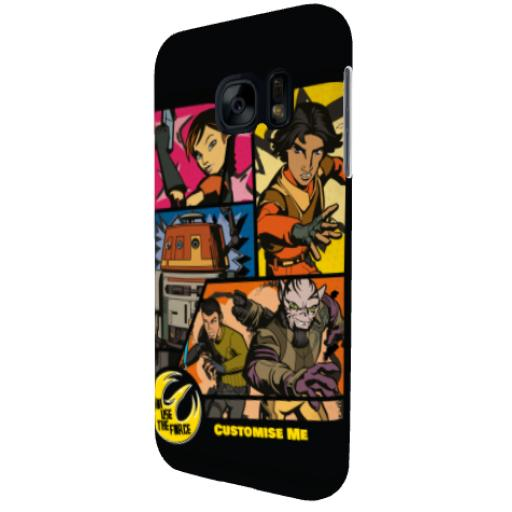 Star Wars Rebels Comic Print Samsung Galaxy S7 Phone Case