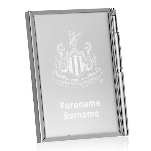 Newcastle United FC Crest Address Book