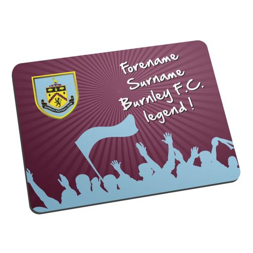 Burnley FC Legend Mouse Mat