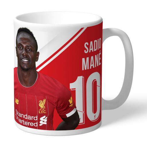 Liverpool FC Mané Autograph Mug