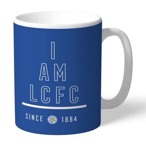 Personalised Leicester City FC I Am Mug.