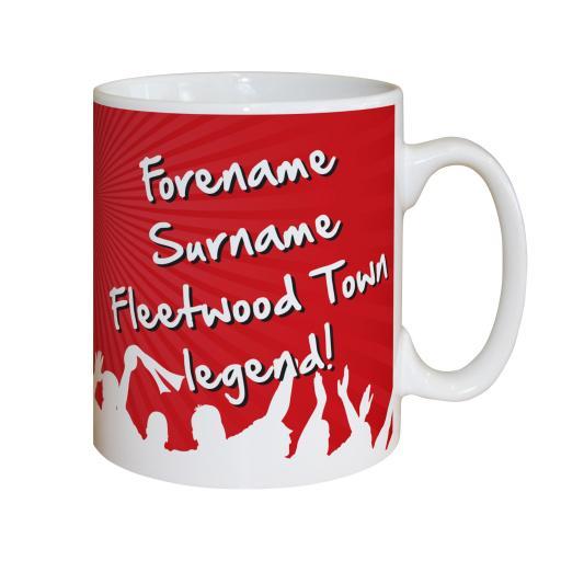 Fleetwood Town FC Legend Mug
