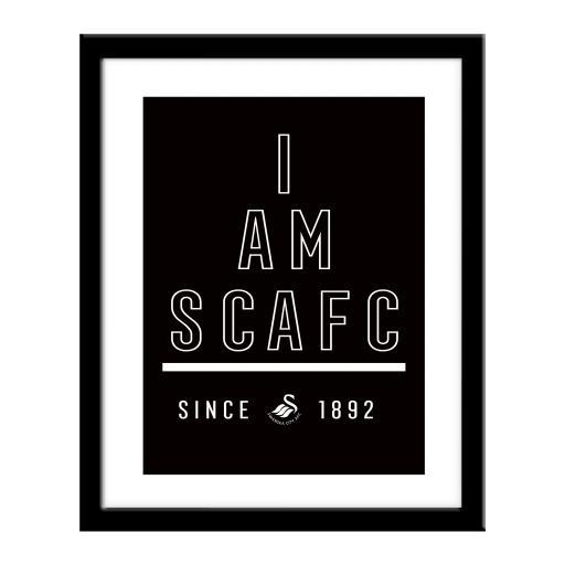 Swansea City AFC I Am Print