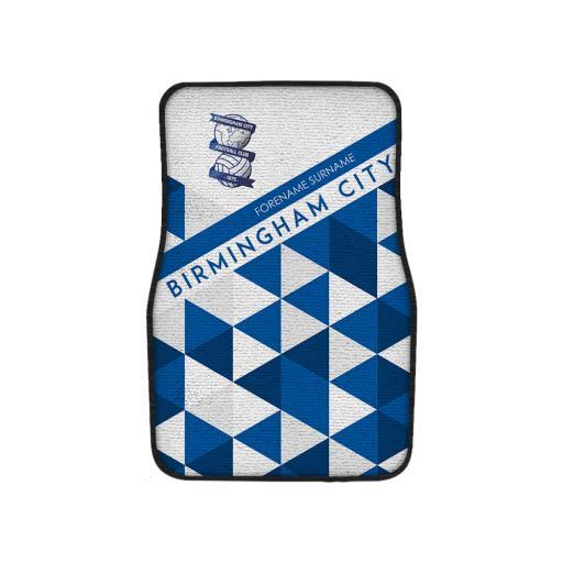 Birmingham City FC Patterned Front Car Mat