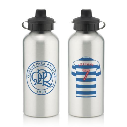 Queens Park Rangers FC Aluminium Water Bottle