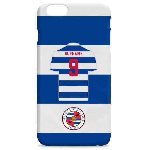 Reading FC Shirt Hard Back Phone Case