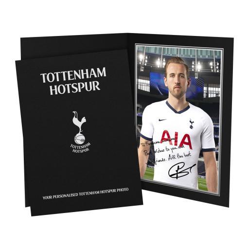 Tottenham Hotspur Kane Autograph Photo Folder