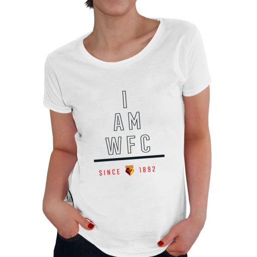 Watford FC I Am Ladies T-Shirt