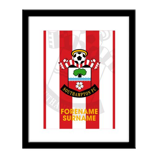 Southampton FC Bold Crest Print