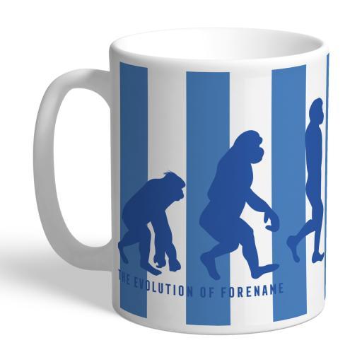 Personalised Sheffield Wednesday Evolution Mug.