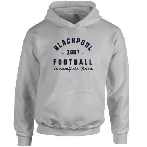 Personalised Blackpool FC Stadium Vintage Hoodie.