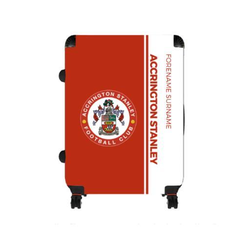 Accrington Stanley Crest Large Suitcase