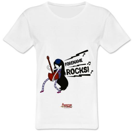 Adventure Time Name Rocks! Womens T-shirt