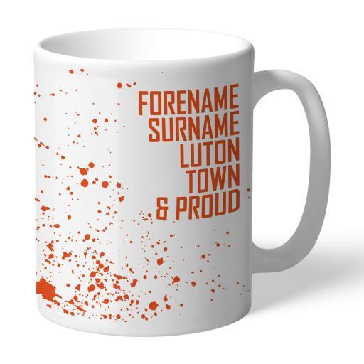 Luton Town FC Proud Mug