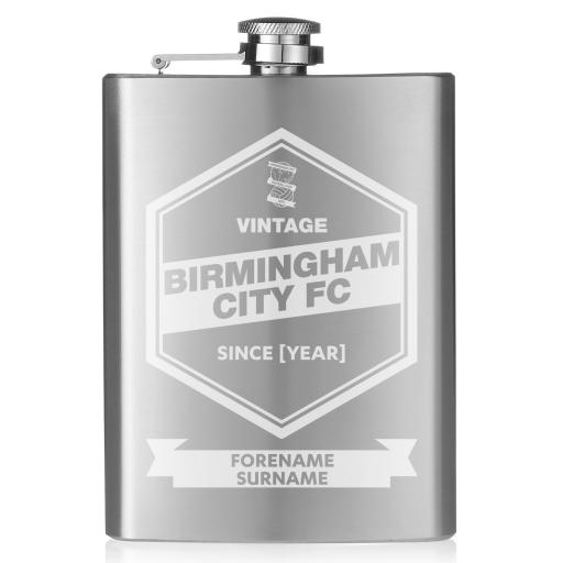 Birmingham City FC Vintage Hip Flask