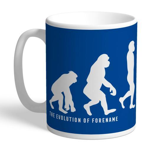 Birmingham City Evolution Mug