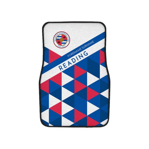 Reading FC Patterned Front Car Mat