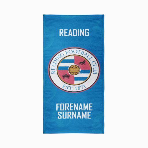 Reading FC Crest Design Towel - 80cm x 160cm