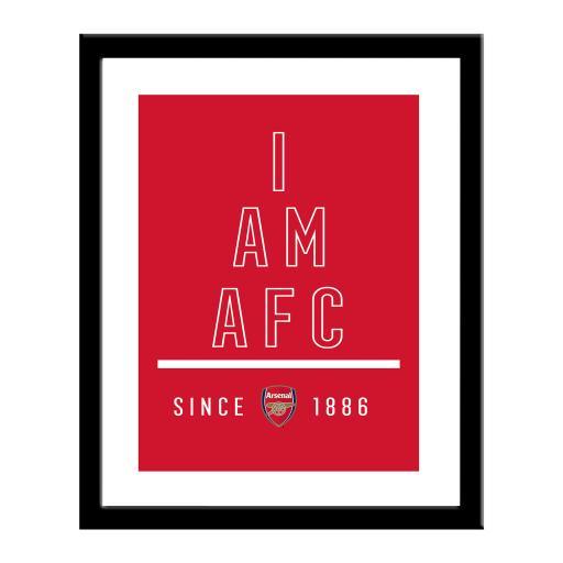 Arsenal FC I Am Print
