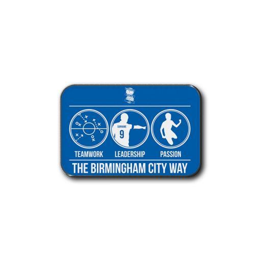 Birmingham City FC Way Rear Car Mat