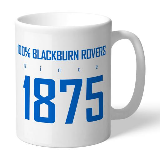 Blackburn Rovers FC 100 Percent Mug