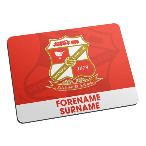 Swindon Town Bold Crest Mouse Mat