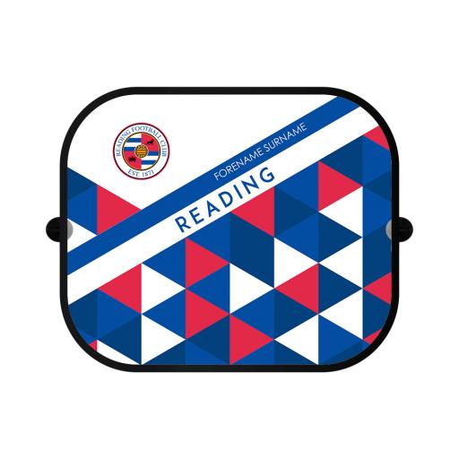 Reading FC Patterned Car Sunshade
