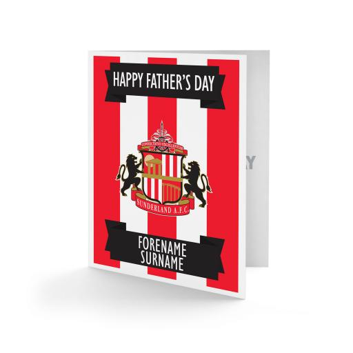 Sunderland AFC Crest Father's Day Card