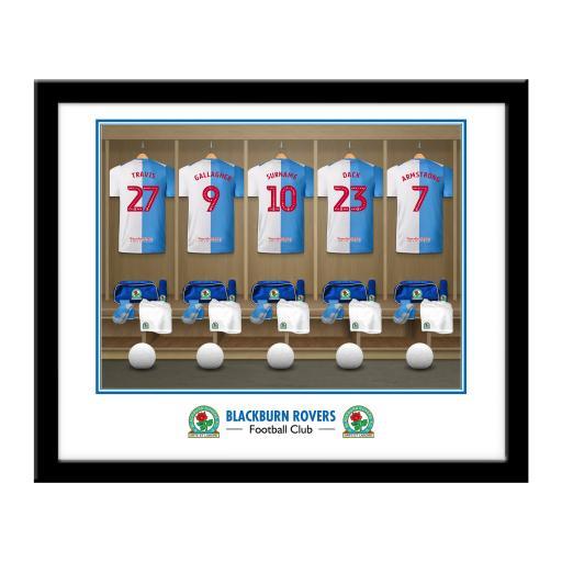 Blackburn Rovers FC Dressing Room Framed Print