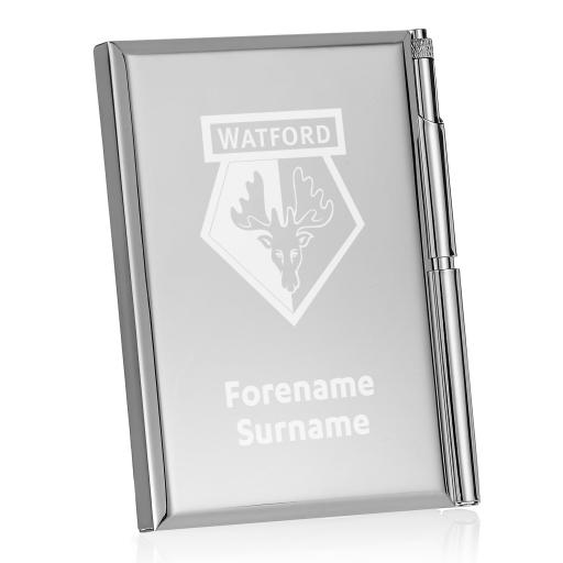 Watford FC Crest Address Book