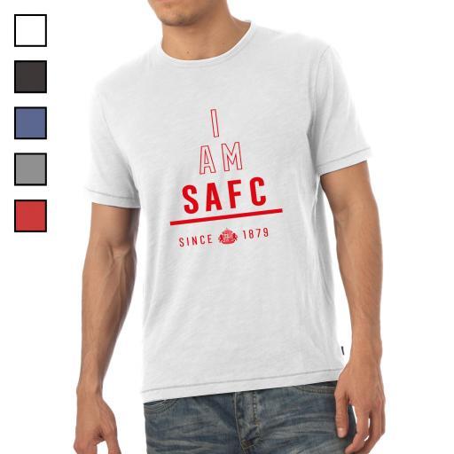 Sunderland AFC I Am Mens T-Shirt
