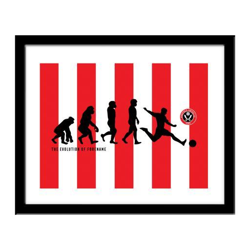 Sheffield United FC Evolution Print