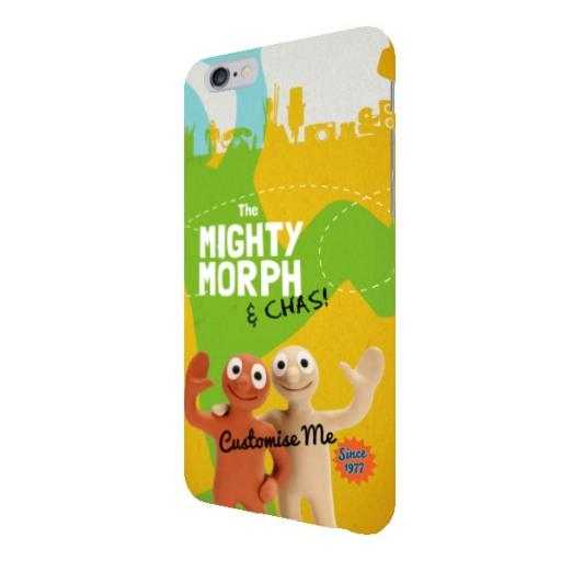 Aardman Morph The Mighty Morph & Chas iPhone 6+/6s+ Clip Case